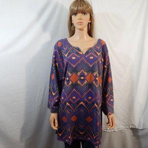 NWOT NEW Roaman's Size 38/40 5X Top Shirt Blouse
